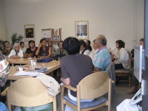 Besuch der Seniorenfreizeitstätte HUZUR