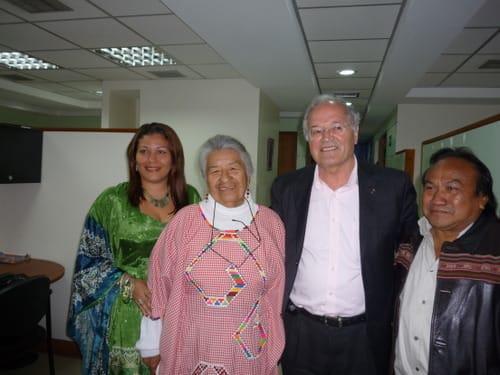 Treffen mit Abgeordneten der Indigenen Bevölkerung