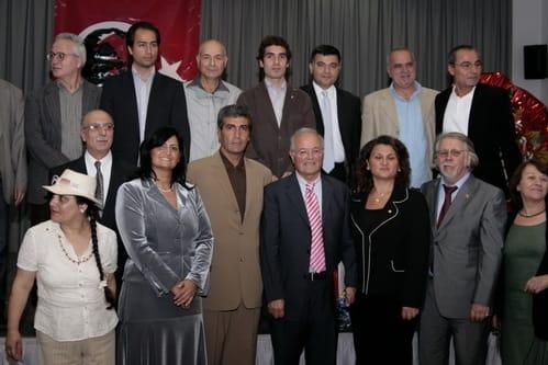 Preisverleihung durch den Verein zur Förderung des Gedankenguts Atatürks Berlin- Brandenburg