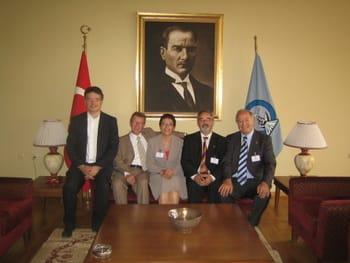 Begleitung der Bundeskanzlerin bei ihrem Besuch in der Türkei