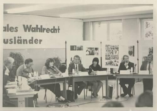 """""""Kommunales Wahlrecht und Ausländerpolitik in Hamburg"""""""
