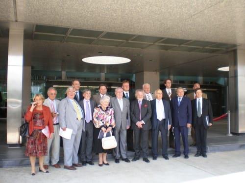 Informationsreise der Westeuropäischen Union (WEU) nach Washington und New York
